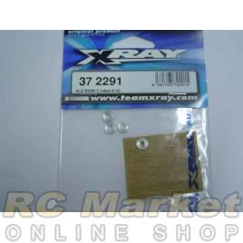 XRAY 372291 Alu Shim 3.1x8x0.5 (4)