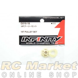 INFINITY G019-18 IF15 18T Pulley Set