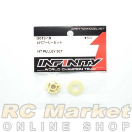 INFINITY G019-19 IF15 19T Pulley Set