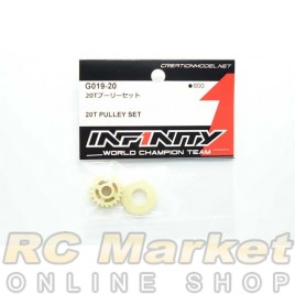INFINITY G019-20 IF15 20T Pulley Set