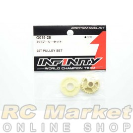 INFINITY G019-25 IF15 25T Pulley Set