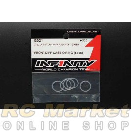 INFINITY G021 IF15 Front Diff Case O-Ring (5Pcs)