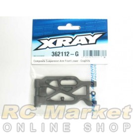 XRAY 362112-G XB4 Composite Suspension Arm Front Lower - Graphite