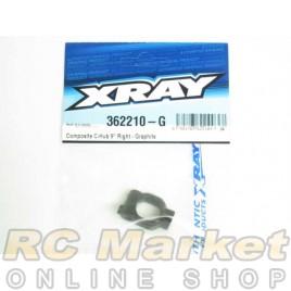 XRAY 362210-G XB4 Composite C-Hub 9° Right - Graphite