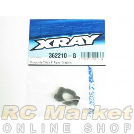 XRAY 362210-G XB4 Composite C-Hub 9° Right - Graphite