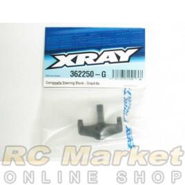 XRAY 362250-G XB4 Composite Steering Block - Graphite