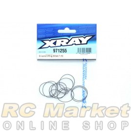 XRAY 971255 Silicone O-Ring 25.5x0.7 (10)