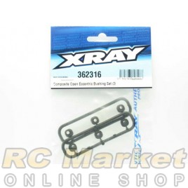 XRAY 362316 XB4 Open Eccentric Bushing Set (2)