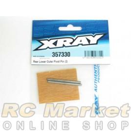 XRAY 357330 XB8 Rear Lower Outer Pivot Pin (2)