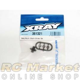 XRAY 361321 XB4 Body Mount - Short + Shims - Set
