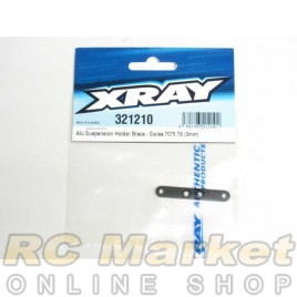 XRAY 321210 XB2 Alu Suspension Holder Brace - Swiss 7075 T6 (3mm)