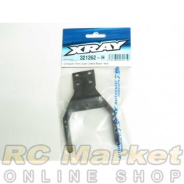 XRAY 321262-H XB2 Composite Front Lower Chassis Brace - Hard