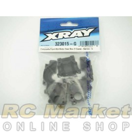 XRAY 323015-G XB2 Composite Front-Mid Motor Gear Box (3 Gears) - Narrow - G
