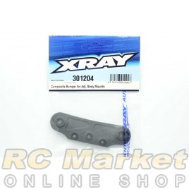XRAY 301204 T4'19 Composite Bumper For Adjustable Body Mounts