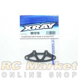 XRAY 301219 T4'19 Composite Upper Holder For Bumper For Adjustable Body Mounts