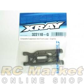 XRAY 322110-G XB2 Composite Suspension Arm Front Lower - Graphite