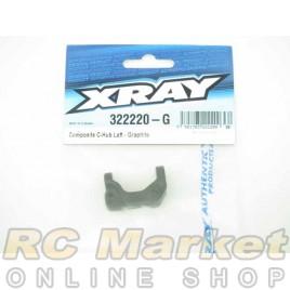 XRAY 322220-G XB2 Composite C-Hub Left - Graphite
