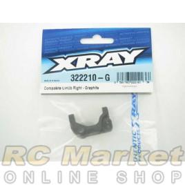 XRAY 322210-G XB2 Composite C-Hub Right - Graphite