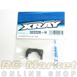XRAY 322220-H XB2 Composite C-Hub 0° Left - Hard