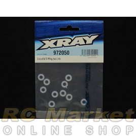 XRAY 972050 T4/NT1 Silicone O-Ring 5x2 (10) Gear Diff