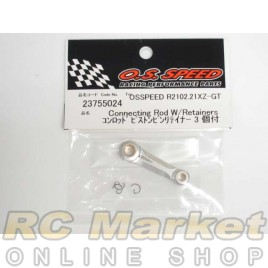 OS ENGINE 23755024  Connecting Rod W/Retainers For (R2102)(21XZ-GT)/R2103/R2104