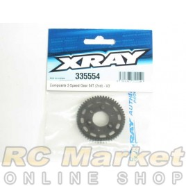 XRAY 335554 NT1 Composite 2-Speed Gear 54T (2nd) - V3