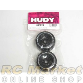 HUDY 803070 1/10 Formula Rubber Tire - Front (2)