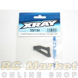 XRAY 332134 NT1 Composite Suspension Arm for Set Screw - Front Upper - Soft
