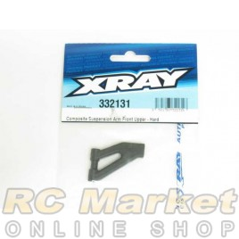 XRAY 332131 NT1 Composite Suspension Arm Front Upper - Hard