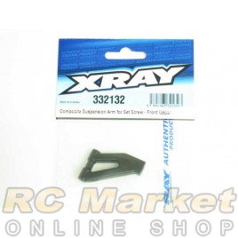 XRAY 332132 NT1 Composite Suspension Arm for Set Screw - Front Upper