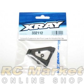 XRAY 332112 NT1 Composite Suspension Arm Front Lower for Wire Anti-Roll Bar