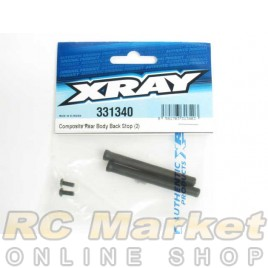 XRAY 331340 NT1 Composite Rear Body Back Stop (2)