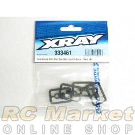 XRAY 333461 NT1 Composite Anti-Roll Bar Ball Joint 4.9mm (4) - V3