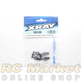 XRAY 333130 NT1 Composite Rear Upper Camber Link Ball Joint 5.8mm (4)