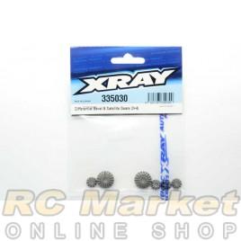 XRAY 335030 NT1 Diff Bevel & Satellite Gears (2+4)