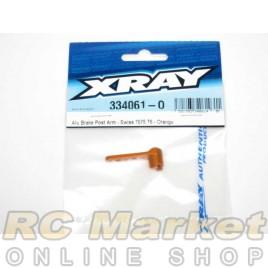 XRAY 334061-O NT1 Alu Brake Post Arm - Swiss 7075 T6 - Orange