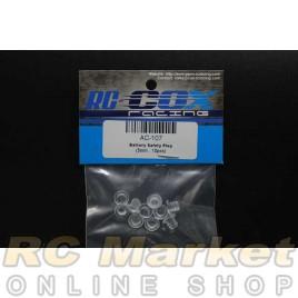 RC-COX AC-107 Battery Safety Plug (5mm x 10pcs)