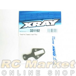 XRAY 331192 NT1 Graphite Chassis Insert Rear
