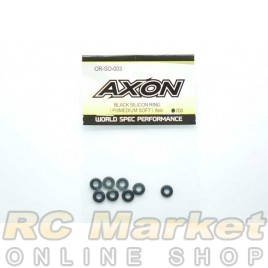 AXON OR-SO-003 Black Silicon Ring (P3 / Medium Soft) 8 Pic