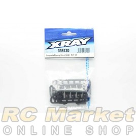 XRAY 336120 NT1 Composite Steering Servo Holder - Set - V2