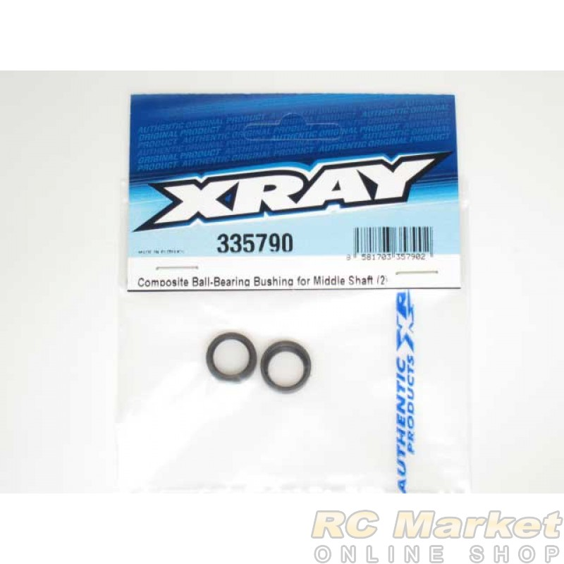 XRAY 335790 NT1 Composite Ball-Bearing Bushing for Middle Shaft (2)