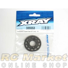 XRAY 335553 NT1 Composite 2-Speed Gear 53T (2nd) - V3