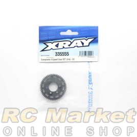 XRAY 335555 NT1 Composite 2-Speed Gear 55T (2nd) - V3