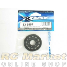 XRAY 335557 NT1 Composite 2-Speed Gear 57T (1st)