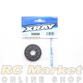 XRAY 335558 NT1 Composite 2-Speed Gear 58T (1st)