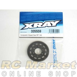 XRAY 335559 NT1 Composite 2-Speed Gear 59T (1st)