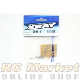XRAY 980210 Pin 2x9.8 (10)
