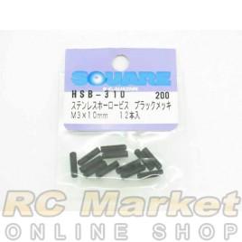 SQUARE HSB-310 Steel Set Screw M3x10mm