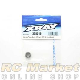 XRAY 338519 NT1 XCA Alu Pinion Gear - 19T (1st) - 7075 T6 - Hard Coated