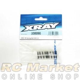 XRAY 338090 3S Spring-Set C=8.0 (2)
